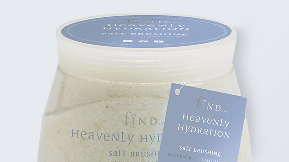 Spa Find Heavenly Hydration Salt Brushing