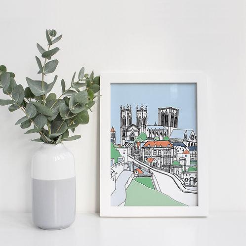 A4 Lendal Bridge Print