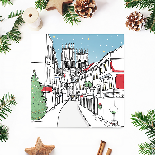 Low Petergate Christmas Card