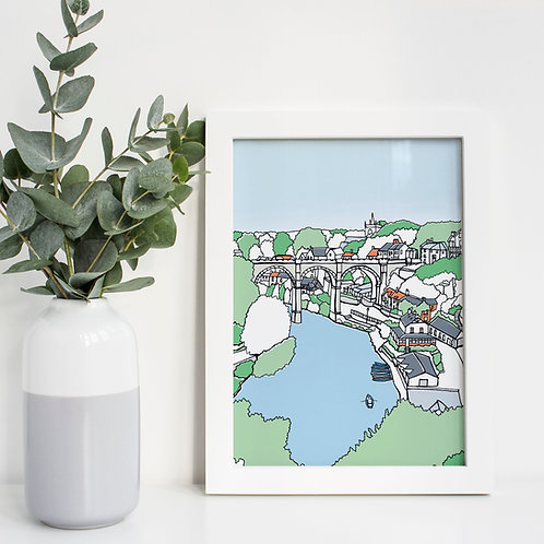 A4 Knaresborough Print