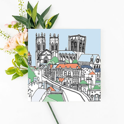 Lendal Bridge Greetings Card