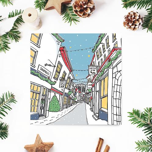 Shambles Christmas Card