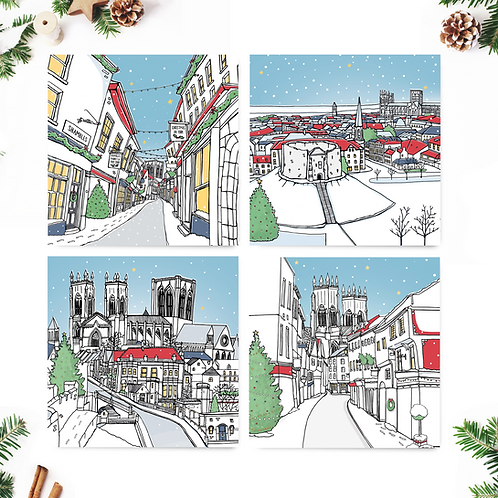 10 x Christmas Cards