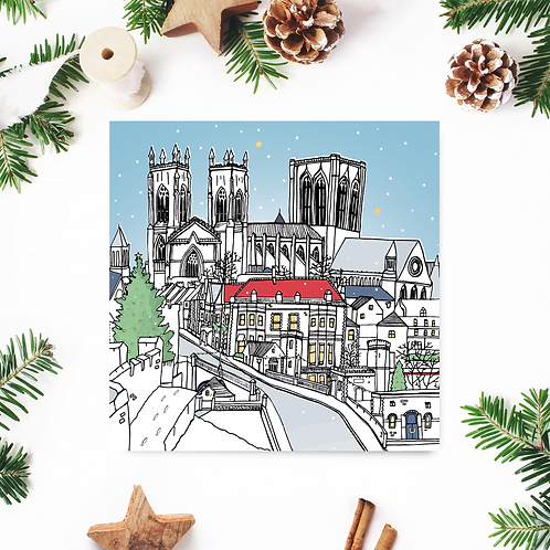 Lendal Bridge Christmas Card