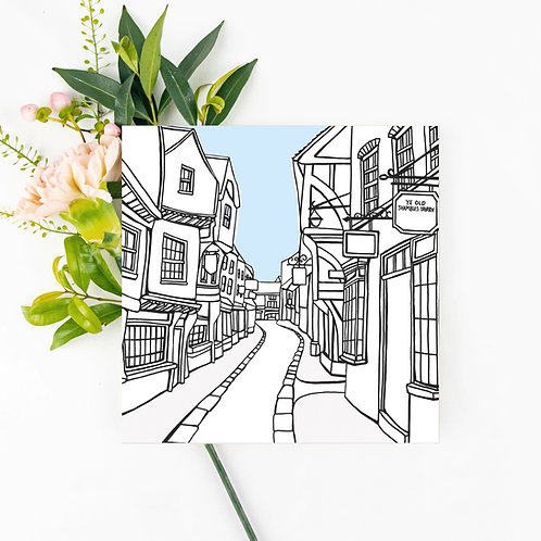 Shambles Greetings Card