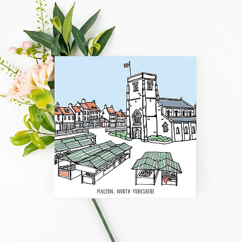 Malton Greetings Card