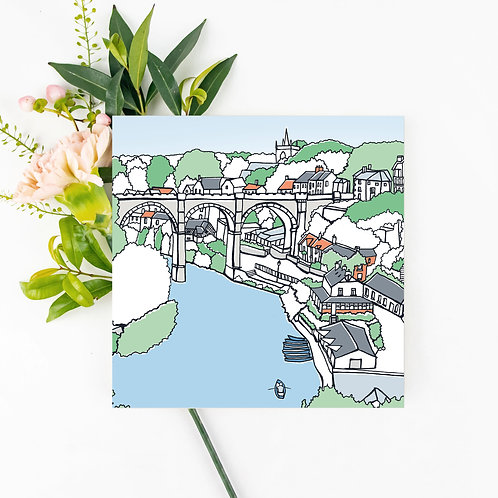Knaresborough Greetings Card