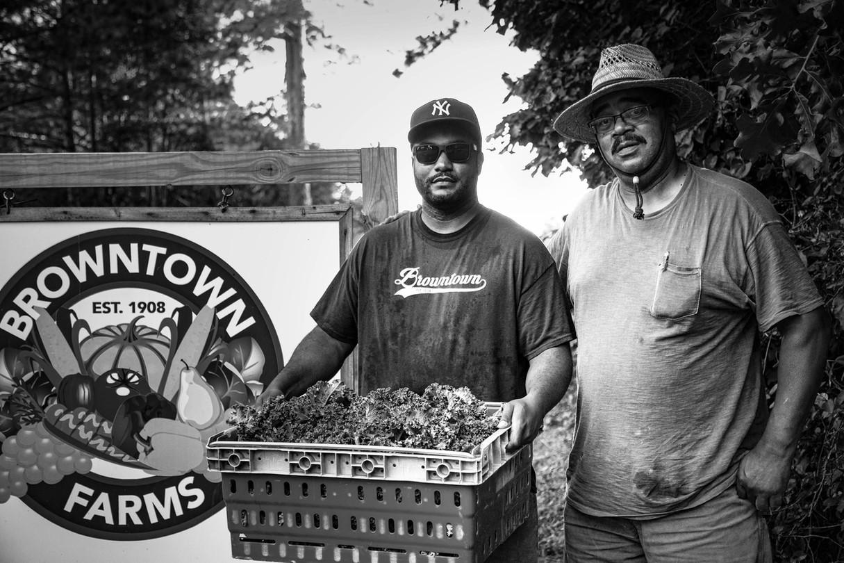 Herb Brown, Jr., and Herb Brown, Sr.