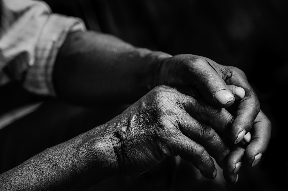 A Farmer's Hands