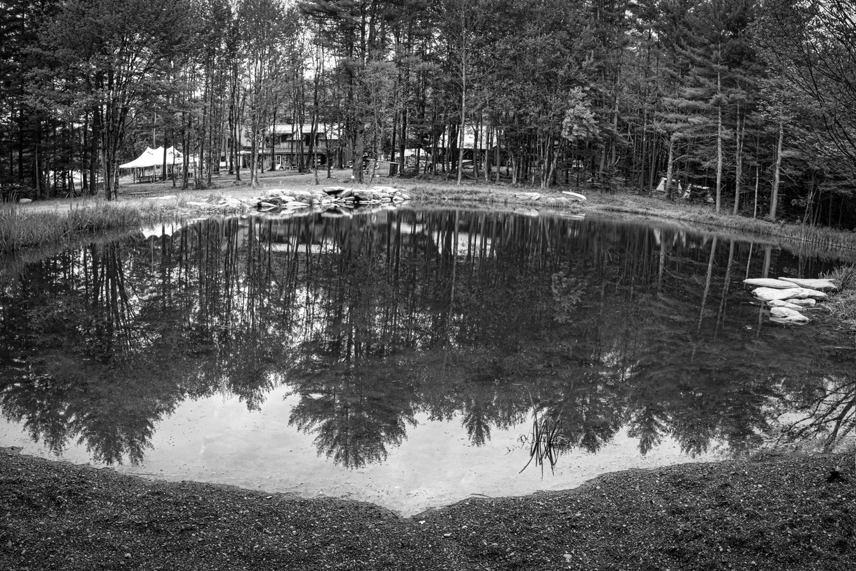 The Pond at Soul Fire Farm