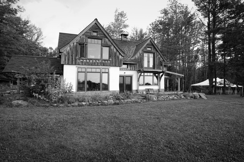 The Main House at Soul Fire Farm