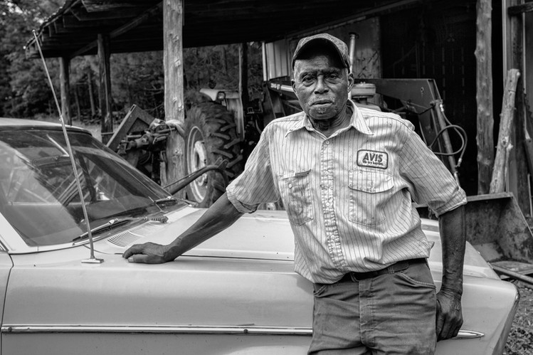 Rev. Moore with his '66 Ford Galaxie