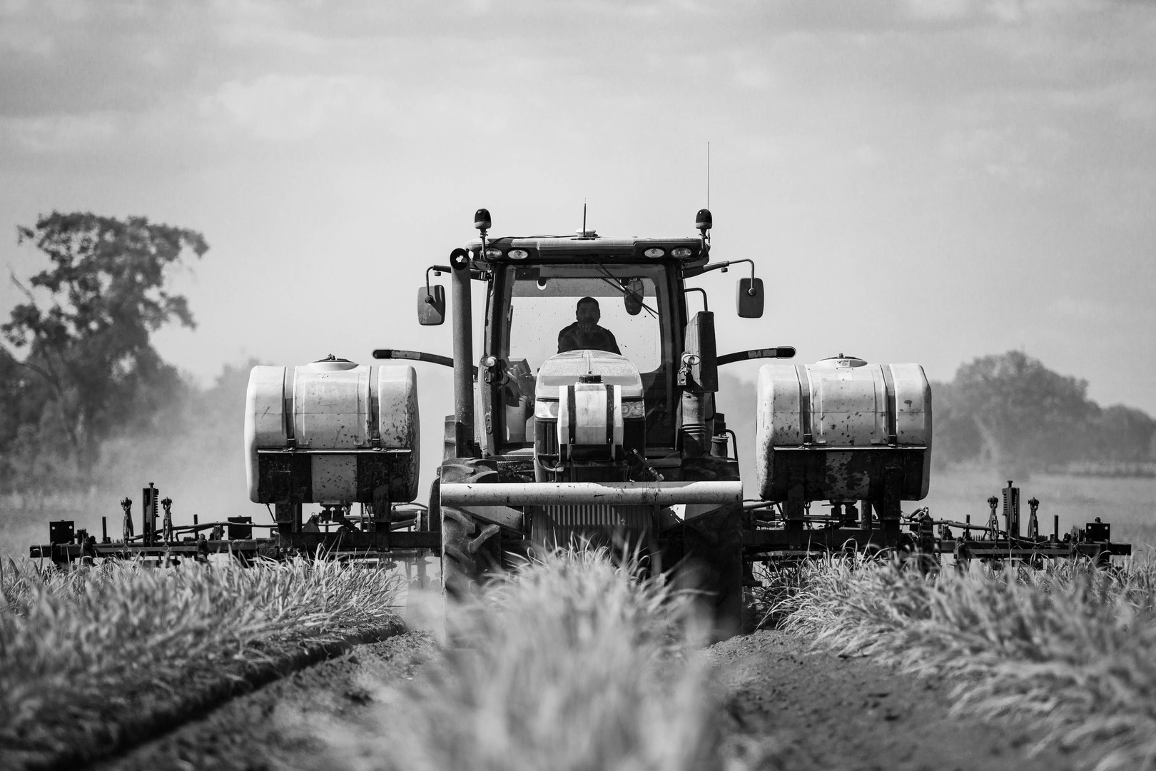 Fertilizer Spraying