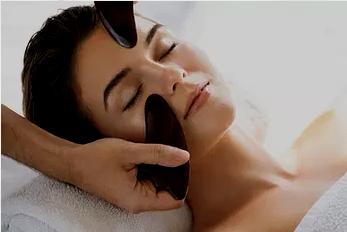 60min facial gua sha by solsuna