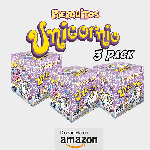 Puerquitos Unicornio (3 Pack)