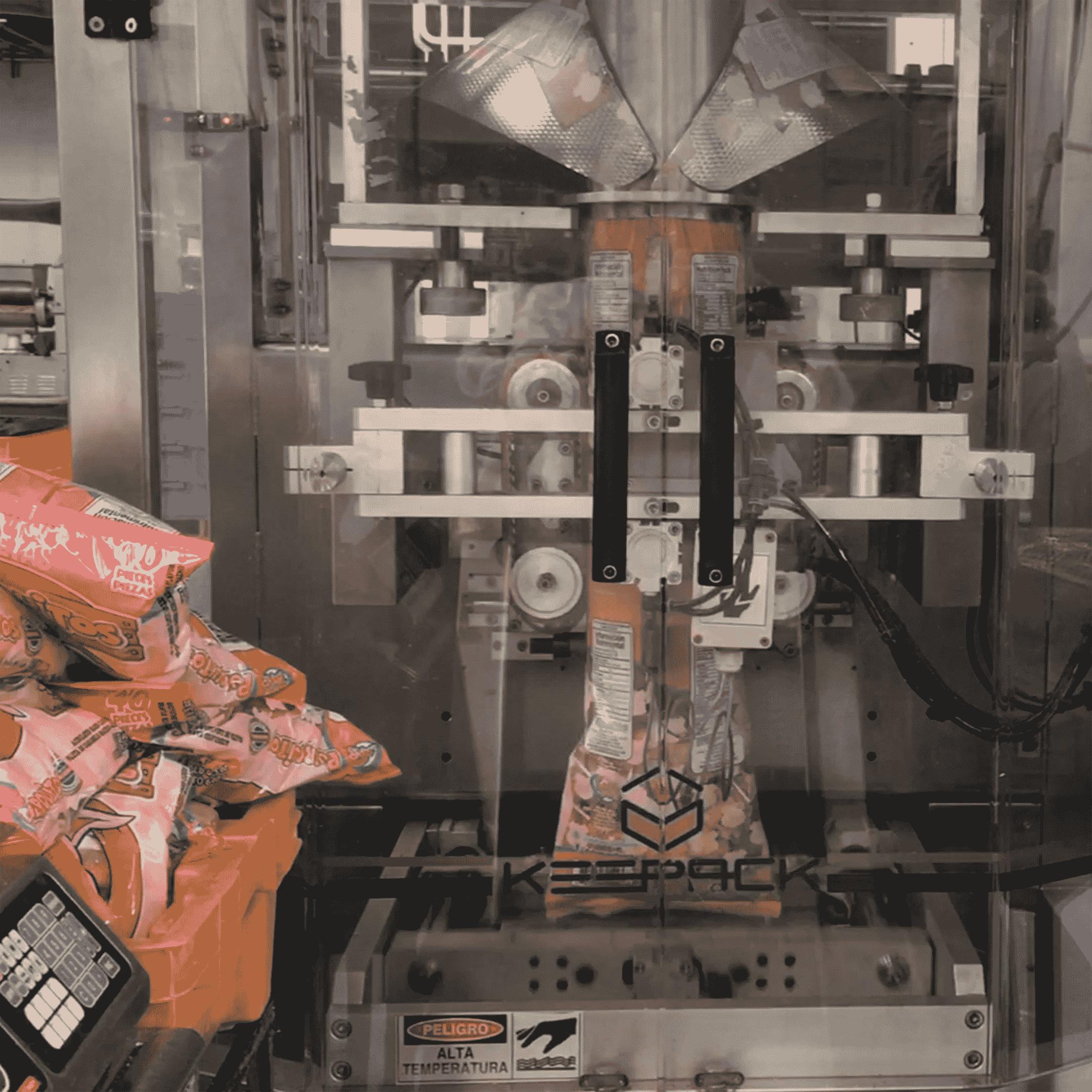 Máquina de fábrica de dulces