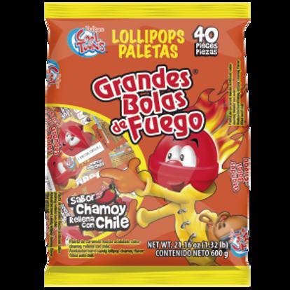 Cool Toons Grandes Bolas de Fuego Chamoy