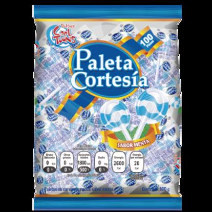 Paleta Cortesía