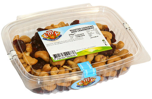 Roasted Cashews and Cranberries