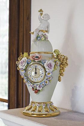Clock with grape