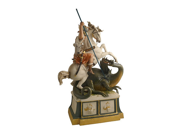 St George and the dragoon