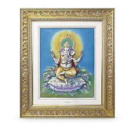 Ganesha - Basrelief
