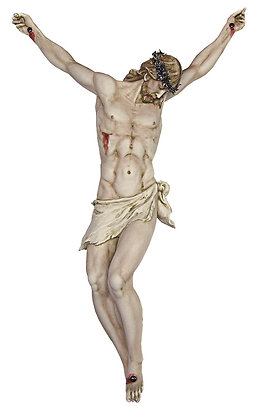 Big crucifix without cross