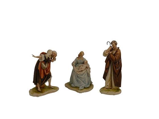 Shepherd - Virgin Mary with holy child - Saint Joseph