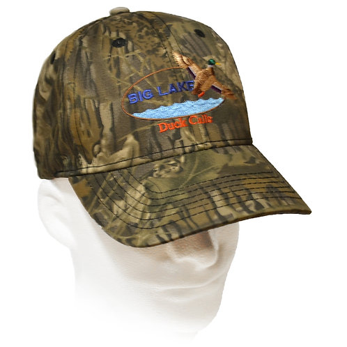 Brushed Cotton Camo Big Lake Hat