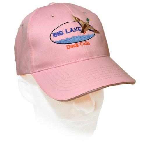 Brushed Cotton Pink Big Lake Hat