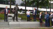 Памятник Чехову во Владивостоке – дань города великому классику мировой литературы.