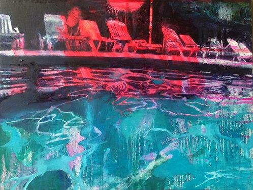 Lucinda Metcalfe - Neon Pool