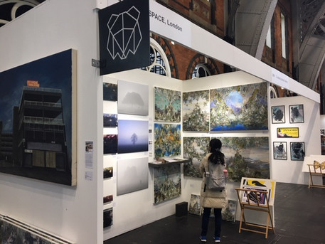 Thanks for visiting us at the Aviva Investors Manchester Art Fair this year (Oct 2018)