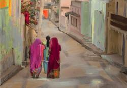 Sandyboles-Streets of India