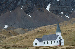 Stunning church at Grytviken South Georgia #Antarctica#awesomeearth#discoverearth#dream_image#Global
