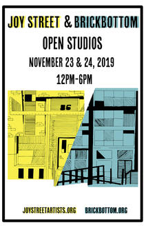 Joy Street & Brick Bottom Open Studios 2019 Poster