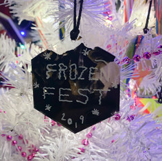 Frozen Fest Ornament