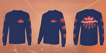 Mayday Parade LS- Mean T's Long Sleeves.
