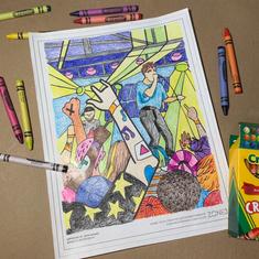 Don Broco Coloring Page