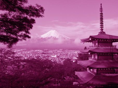 Kaguya and Mount Fujiyama
