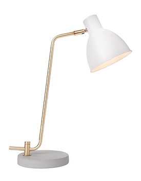 Newhouse Lighting  Amelia  20.5 in. White  Desk Lamp