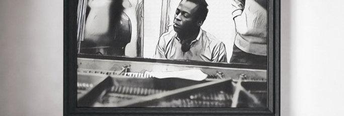 Miles Davis Jazz Print