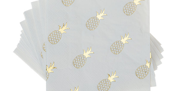 Pineapple Crush Cocktail Napkins