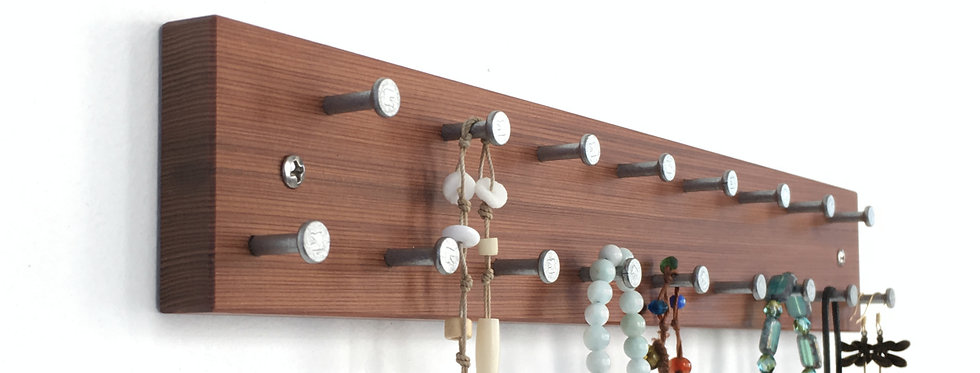Necklace Rack/Display in Solid Wood