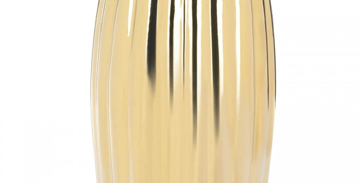 Gold Ceramic Side Stool