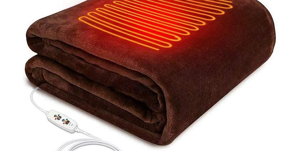 Large Electric Heated Throw Blanket