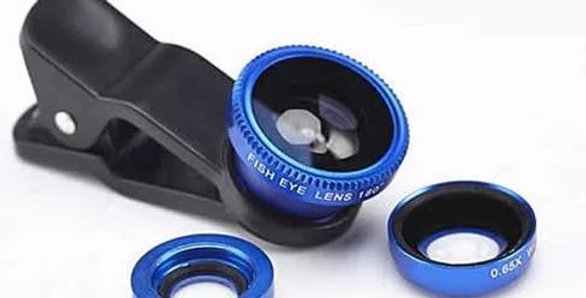 3-in-1 Clip on Smartphone Camera Lens
