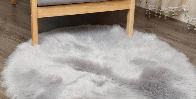 Artificial Sheepskin Rug