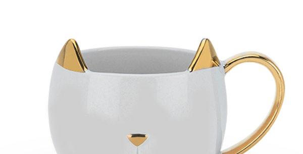 Chloe™ Grey Cat Mug