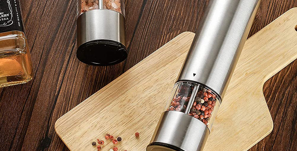 Electric Pepper Mill Stainless Steel